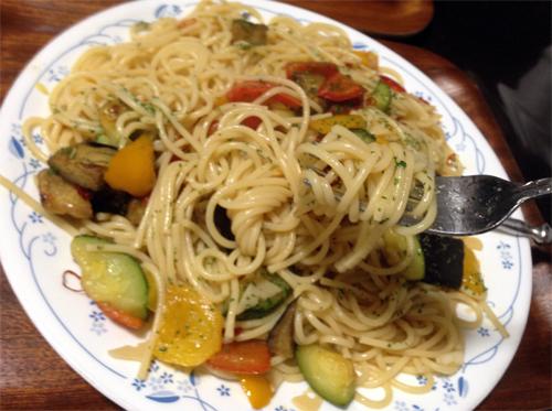 欧風野菜とペペロンチーノ.jpg